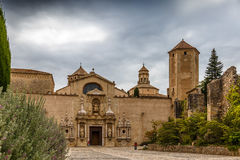 Poblet abbey in SPain Royalty Free Stock Images