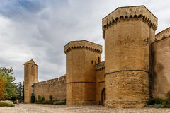 Poblet abbey in SPain Stock Photos
