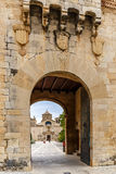 Poblet abbey in SPain Royalty Free Stock Photos