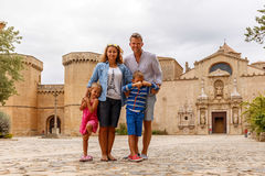 Poblet abbey in SPain Royalty Free Stock Photo