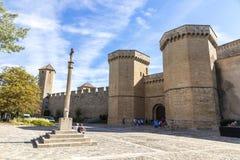 Poblet, Cataluña, España Imagen de archivo