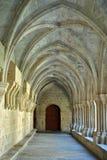 Poblet kloster Royaltyfria Foton