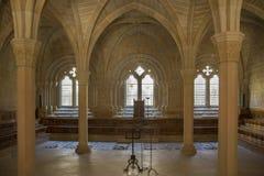 Poblet kloster - Catalonia - Spanien Royaltyfria Foton