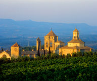 Poblet monastery stock photos