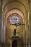 Poblet Monastery - Catalonia - Spain Stock Image