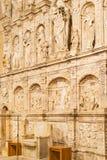 Poblet Monastery near Barcelona in Catalonia, Spain Royalty Free Stock Photo