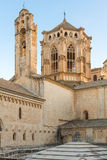 Poblet Monastery near Barcelona in Catalonia, Spain stock photography