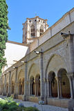 Poblet monastery Royalty Free Stock Photography
