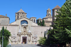 Poblet monastery Royalty Free Stock Image