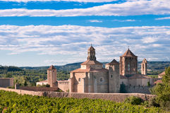 Poblet monastery, Spain Royalty Free Stock Photo