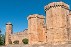 Poblet Monastery, Tarragona Province, Spain Royalty Free Stock Images