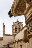 Pobletabdij in Spanje stock foto