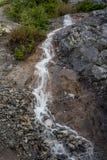Pobocze spada, Lodowego pola Parkway, Banff park narodowy, Alberta, Kanada fotografia royalty free