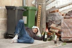 Pobre homem Fotografia de Stock Royalty Free