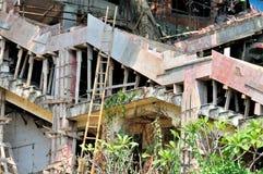 Pobres y ningún funcionamiento profesional de la construcción Fotografía de archivo
