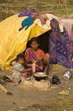 Pobreza Imagen de archivo libre de regalías