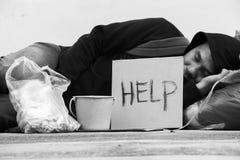 pobreza Fotos de archivo