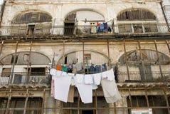 Pobreza cubana Imagem de Stock