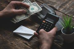 pobreza deudas ahorros fotografía de archivo libre de regalías