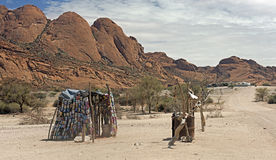 Pobreza em África imagens de stock