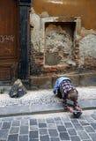 Pobreza em Praga fotografia de stock royalty free