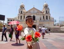 Pobreza en Asia Foto de archivo libre de regalías