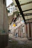 Pobreza en la ciudad Fotografía de archivo libre de regalías