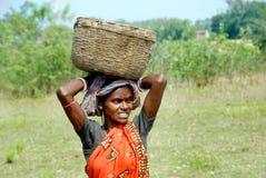Pobreza en la India Imágenes de archivo libres de regalías