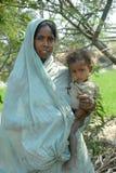 Pobreza en la India Foto de archivo