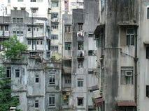 Pobreza en los tugurios Foto de archivo
