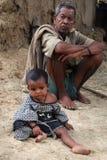 Pobreza rural en la India Fotografía de archivo libre de regalías