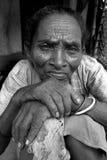 Pobreza rural en la India Imagenes de archivo