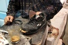 Pobreza - Túnez Foto de archivo libre de regalías