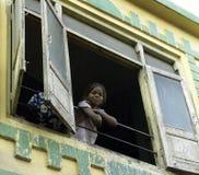 Pobreza - vivienda de los tugurios en Udaipur - la India Fotografía de archivo libre de regalías