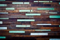 Pobrudzony drewniany wal Obraz Stock