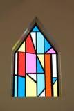 pobrudzony szkła okno Obrazy Royalty Free