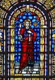 pobrudzony szkła okno Obraz Royalty Free