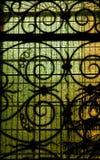 pobrudzony szkła okno Obraz Stock