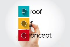 Free POC - Proof Of Concept Acronym, Business Concept Background Stock Photos - 197860123