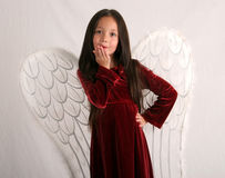 pocałunek anioła Obraz Royalty Free