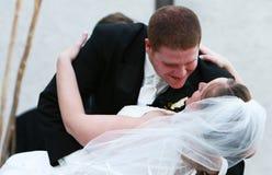 pocałunek na ślub Fotografia Stock