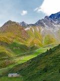 Poca azienda agricola tradizionale in Svizzera Immagine Stock