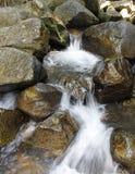 Poca caída del agua Fotografía de archivo libre de regalías