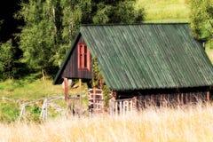 Poca cabaña Foto de archivo libre de regalías
