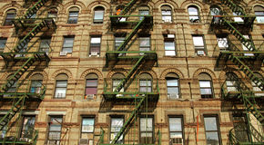 Poca Camera del distretto dell'Italia a New York Fotografie Stock