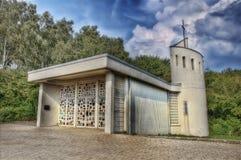 Poca cappella a Aquisgrana, Germania fotografie stock