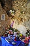 Poca cappella delle rovine di Cirella, Cosenza, Calabria Fotografia Stock Libera da Diritti