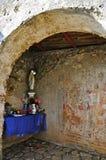 Poca cappella delle rovine di Cirella, Cosenza, Calabria Fotografia Stock