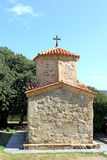 Poca cappella nella chiesa ortodossa di Samtavro Fotografia Stock Libera da Diritti