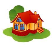 Poca casa Ilustración del Vector
